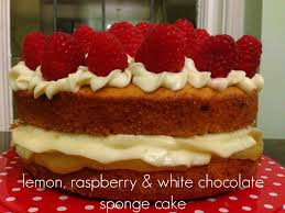 lemon raspberry u0026 white chocolate sponge cake gbbo 1 mummy