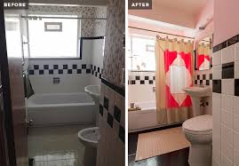 Before After Bathroom Makeovers - before after my itty bitty pink bathroom makeover u2013 sabrina