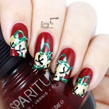 top 51 most beautiful christmas nail art ideas for you to try