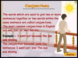 learn conjunctions types of conjunctions english grammar class