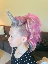 Unicorn Makeup Halloween by 18 Crazy Hair Day Ideas For Girls U0026 Boys Crazy Hair Pony Hair