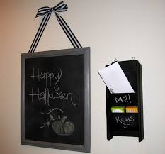 Mail And Key Holder Chalkboard Key Holder And How You Can Make One Interior Design Ideas