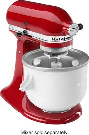 Kitchen Aid Outlet Kitchenaid Kica0wh Ice Cream Maker For Most Kitchenaid Stand
