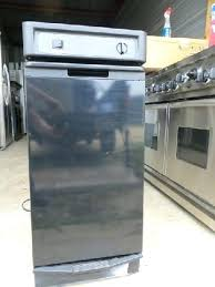 used trash compactor kenmore trash compactor used black trash compactor fully out it is