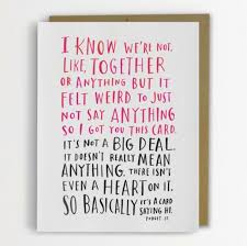 hilariously awkward cards twist hallmark sentiments to reveal what