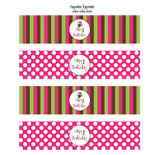 printable water bottle label template water bottle labels free