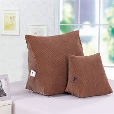tv bed pillow back rest cushions for watching tv new triangular bed pillows lumbar