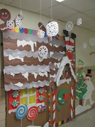 gingerbread house winter wonderland classroom door decorations by
