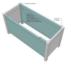 toybox or toy chest free and easy diy project and furniture plans