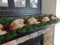decorations mantle garland garland