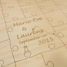 engraved wedding guest book southern wedding guest book puzzle wall woodworks company