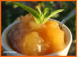 vervenne cuisine confit de pommes a la verveine citronnee le bonheur est dans l