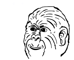Monkey Face Meme - rage face script