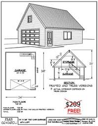 Two Story Garage Plans With Apartments Ez Garage Plans The Garage And Shed Pinterest Garage Plans