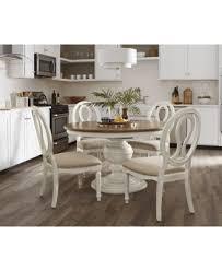 Sag Harbor Expandable Round Dining Pedestal Table Furniture Macys - Kitchen table furniture
