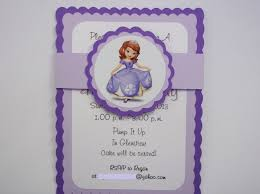 sofia the first party invitations dhavalthakur com