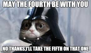 May The Fourth Be With You Meme - grumpy cat star wars meme imgflip