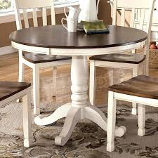 Ashley Furniture Kitchen Table  KIurtjohnsonco - Ashley furniture white dining table set