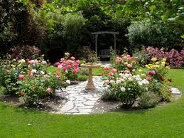 Landscaping Ideas For Small Backyards by Simple Design Ideas Rose Garden Plans Flowers Pinterest