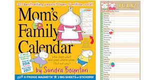 amazon lindt black friday mom u0027s family wall calendar 2017 only 11 01 on amazon