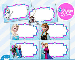 frozen party etsy