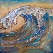 giant wave painting giant wave fine art print beach art
