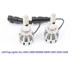 2008 dodge ram 1500 led fog lights 9006 led fog lights l for 2003 2008 dodge ram 1500 2500 3500