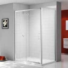 Merlin Shower Doors Ionic By Merlyn Express 6mm Sliding Door Side Panel Bathrooms