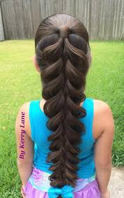 hairstyles for girl video an absolutely amazing 5 strand braid by kerry lane watch the video