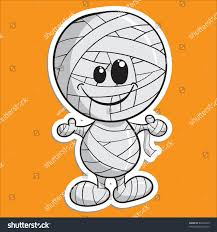 cute halloween images cute halloween character mummy stock vector 86104519 shutterstock