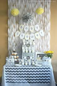 baby shower decorations ideasy shower decorations idea table with size white colors