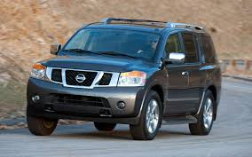 nissan armada off road 2012 nissan armada platinum 4wd first test truck trend news