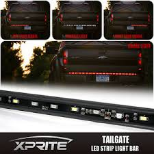 60 inch led light bar xprite weather proof 60 inch red tailgate led light bar w white
