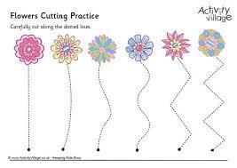 cutting practice worksheet worksheets