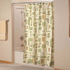 Botanical Shower Curtains Botanical Shower Curtain Fabric Shower Curtain Walter