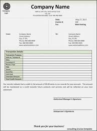 consultant invoice template free download excel it example 850