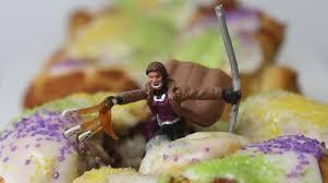 mardi gras king cake baby celebrate mardi gras with mini gambit king cakes nerdist