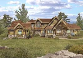 floor plans luxury log homes page 1