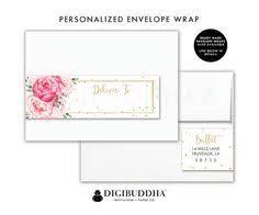 make it printable patterned envelope address labels envelope