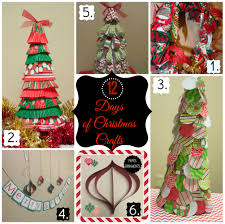 12 days of christmas crafts day 3 paper circle christmas tree