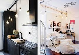 Exposed Bulb Chandelier I The Exposed Bulb Industrial Lighting Feel Trend These Are