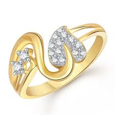 ring gold buy meenaz ring gifts heart ring gold 24k fancy