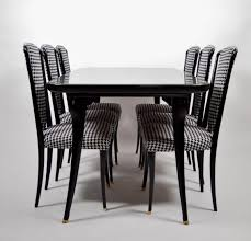 italian dining set with 6 chairs 1950s for sale at pamono