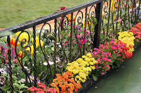 Fence Line Landscaping by 40 Beautiful Garden Fence Ideas