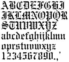 blog gawe ngosek tattoo letter fonts