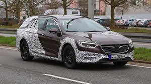 2018 opel insignia wagon 2018 vauxhall insignia country tourer spied