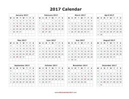 blank calendar 2017 template psd yearly land saneme