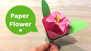 diy paper flowers craft l easy to make with kids youtube