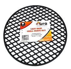 amazon com cast iron grill grate for 22 inch weber kettle grill