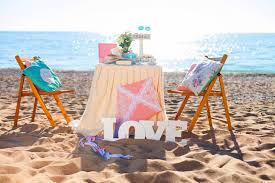 beaches table photography pink two love kite dinner romantic